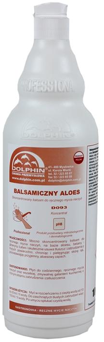 Balsamiczny aloes płyn do mycia naczyń