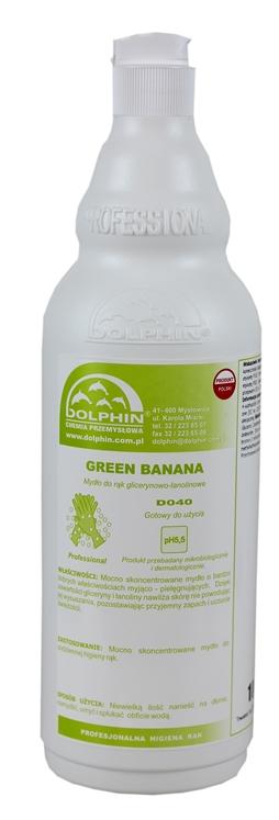 Green Banana mydło w płynie
