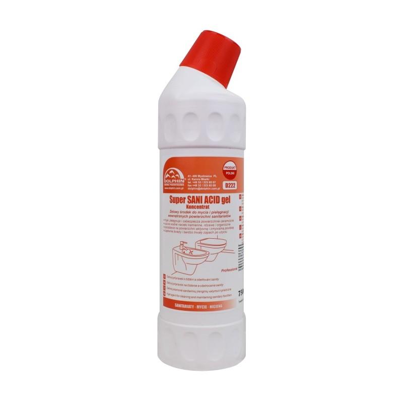 Super SANI ACID gel żel do WC