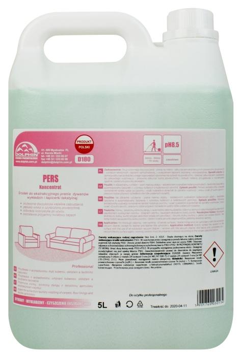 PERS środek do ekstrakcyjnego prania dywanów wykładzin tapicerki