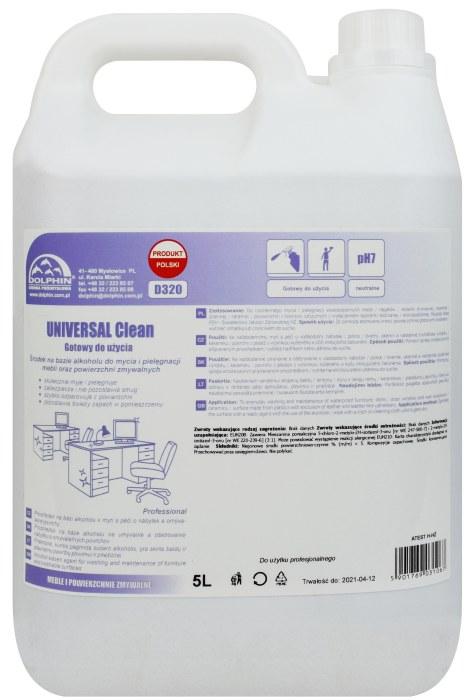 UNIVERSAL Clean do mebli mycie pielęgnacja