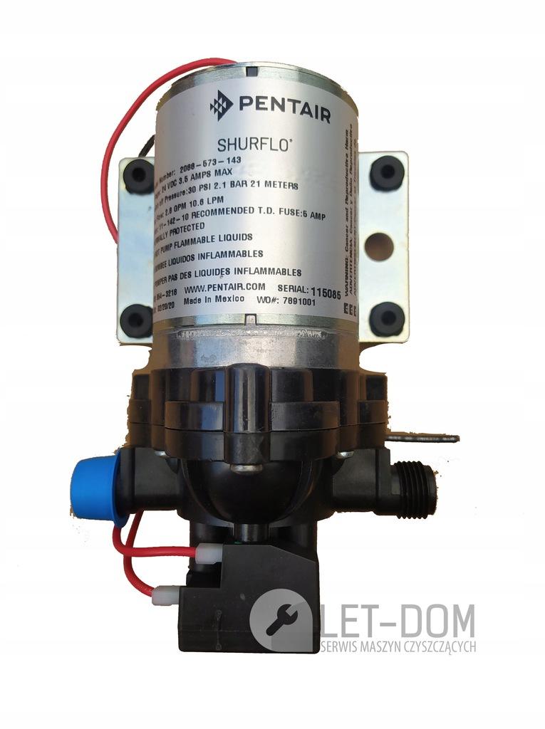 Pompa wody do maszyn szorowarek hako oryginał nowa 24V