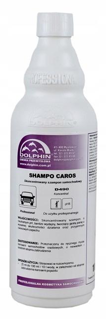 SHAMPO CAROS mycie ręczne samochodów